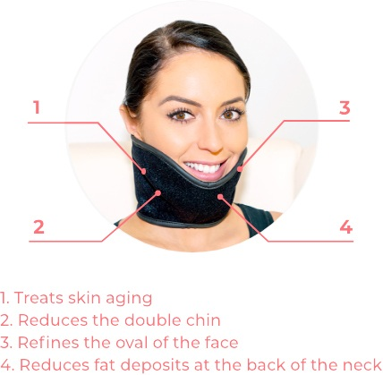 FaceSculptor, professional device refinement of the face, neck and double chin